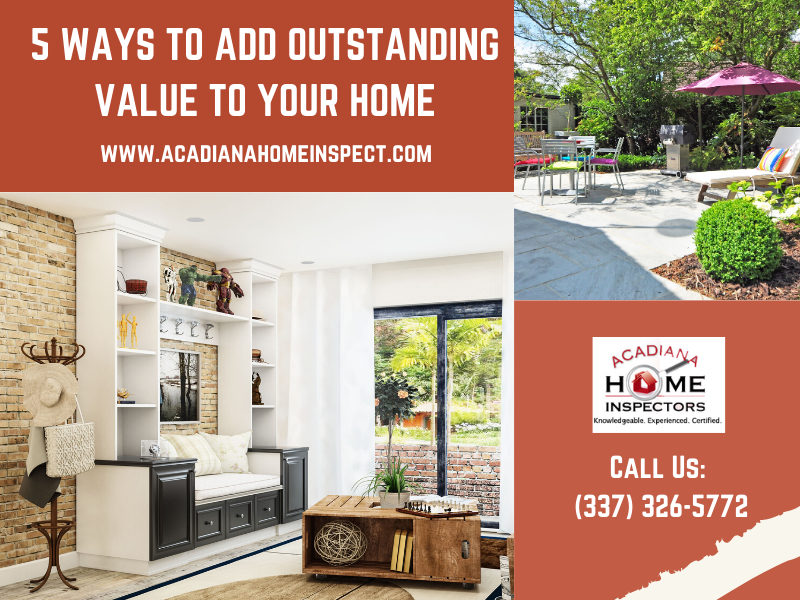 5 Ways to Add Outstanding Value to Your Home