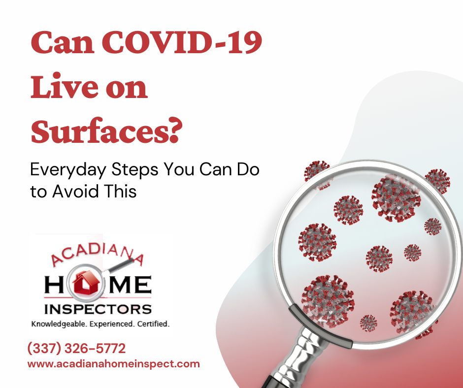 an COVID-19 Live on Surfaces
